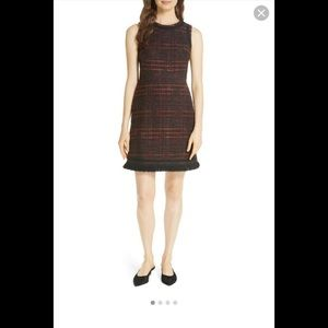 Kate Spade Multi Tweed A-line Dress Size 0